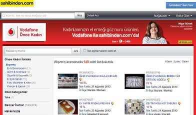 vodafone-önce-kadın-ilan-servisi-önce-kadın-mağazası-e-ticaret-programı-sahibinden-com